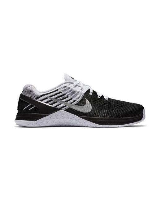 Metcon Dsx Flyknit Chaussures Nike pour homme en coloris Black