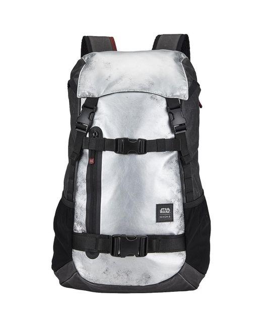 Nixon | Gray Landlock Backpack - Star Wars Edition Men's Backpack In Grey for Men | Lyst
