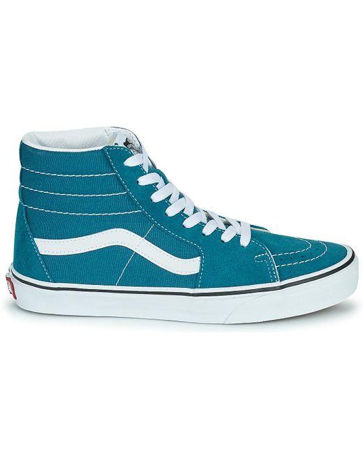 SK8-HI Chaussures Vans en coloris Bleu - Lyst