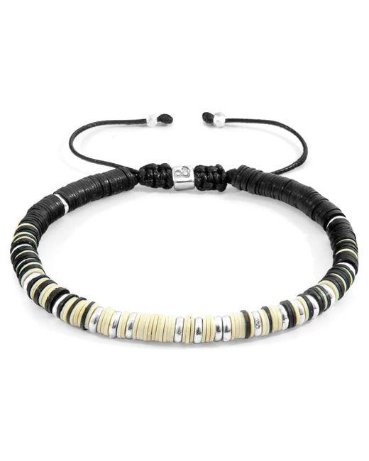 Anchor & Crew Anchor Crew Off-white Kariba Bracelet Bracelet for men