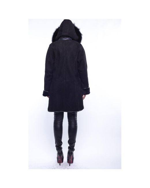 Emma Noir Manteau GIORGIO en coloris Black