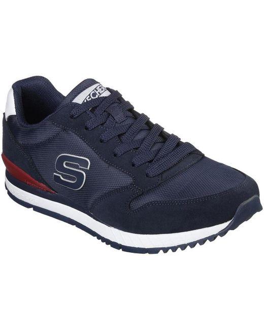 52384_NVY No Aplica Skechers de hombre de color Blue