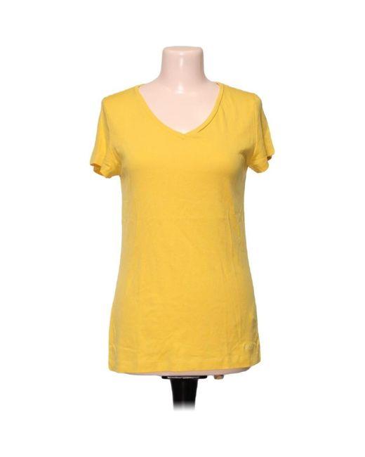 Top manches courtes - Taille 44 Blouses S.oliver en coloris Yellow