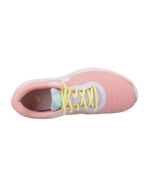 Nike Lage Sneakers Tanjun Fa19 in het Pink