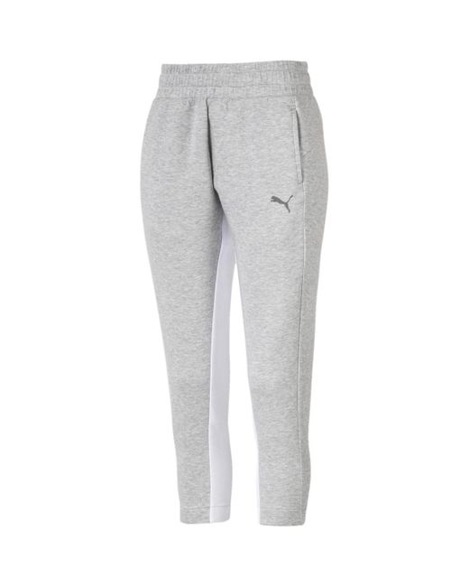 Pantalon Evostripe 3/4 Jogging PUMA en coloris Gray