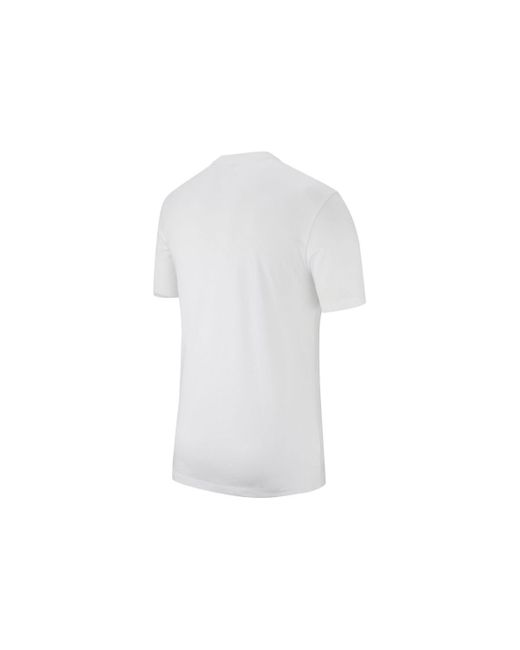 T-shirt bianca di Nike in White da Uomo