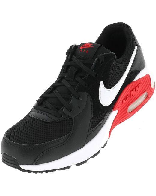Air max excee h noir rouge Chaussures Nike pour homme en coloris ...