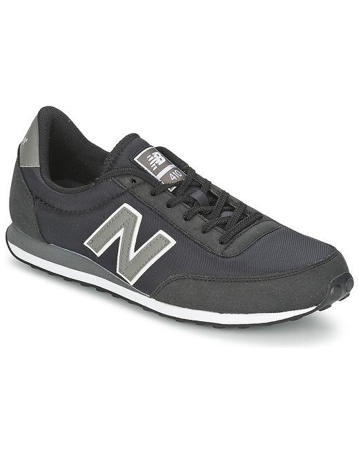 New Balance Lage Sneakers U410 in het Black