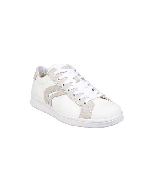 Basket U Warrens C Blanc hommes Chaussures en blanc Geox pour ...