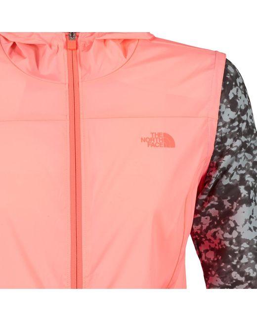 The North Face Windjack Mestral in het Pink