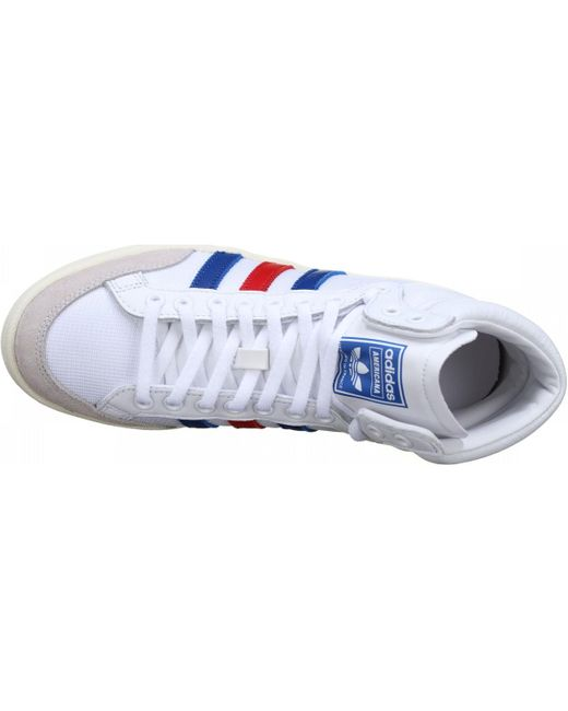 Basket à lacet Chaussures adidas pour homme en coloris Blanc - Lyst