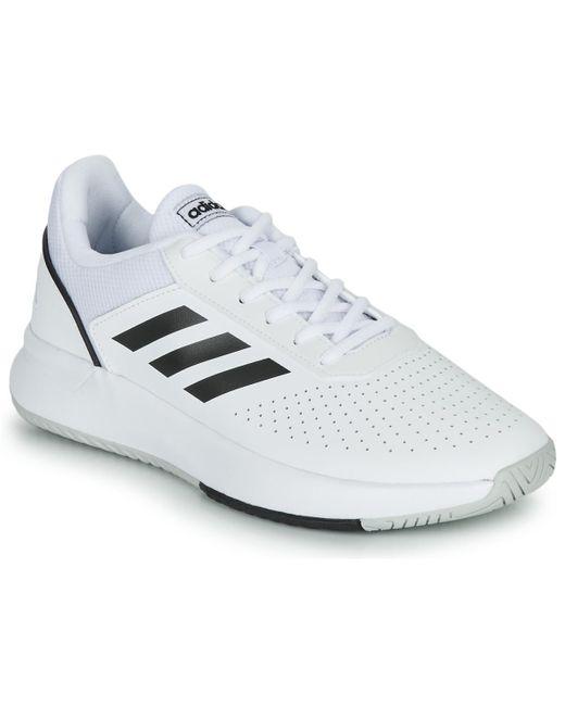 Adidas Tennisschoenen Courtsmash in het White voor heren