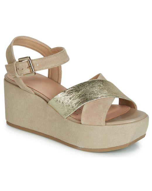 pretty nice 3227e 878c1 Metallic D Zerfie Women's Sandals In Gold