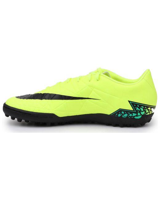 Nike Yellow Hypervenom Phelon Ii Tf for men