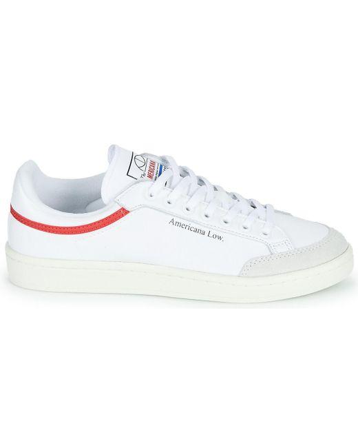 AMERICANA LOW Chaussures adidas en coloris Blanc - 39 % de ...