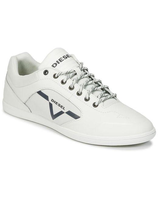 DIESEL | S-aarrow Men's Shoes (trainers) In White for Men | Lyst