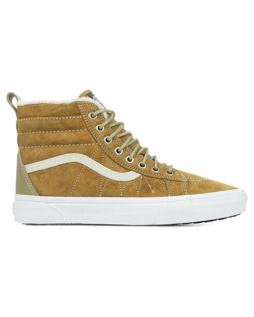 Sk8-Hi Mte Chaussures Vans pour homme en coloris Marron - Lyst