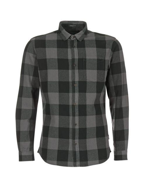 Jack & Jones | Gray Frisk Originals Men's Long Sleeved Shirt In Grey for Men | Lyst