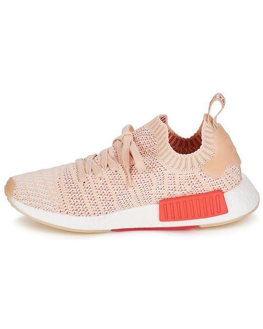 e26975c9dd1d5 ... Adidas - Pink Nmd R1 Stlt Pk W Women s Shoes (trainers) In Multicolour  ...