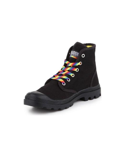 Hoge Sneakers Pampa Pride U Palladium en coloris Black