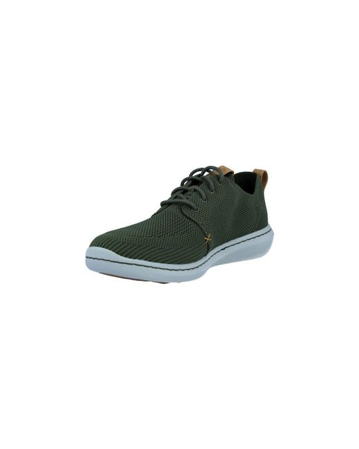 ... Clarks - Step Urban Mix Zapatos Casual De Hombre Men s Shoes (trainers)  In Green ... 64498471d