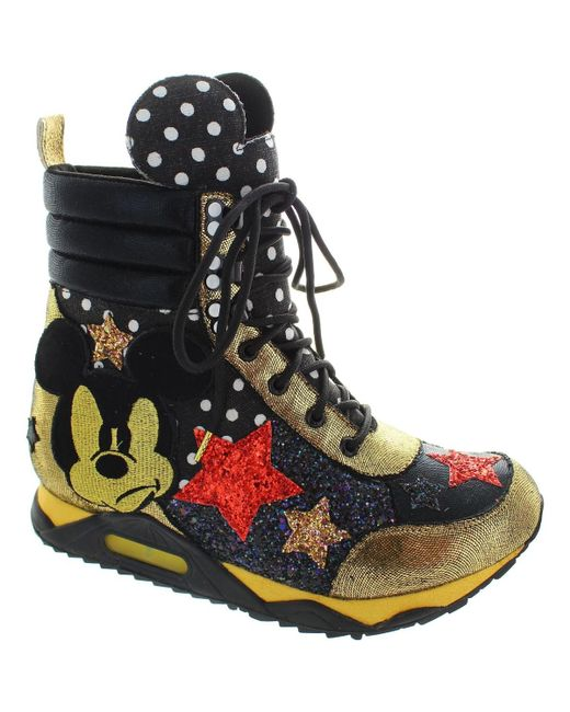 Irregular Choice | Disney Gosh! Women's Shoes (high-top Trainers) In Black | Lyst