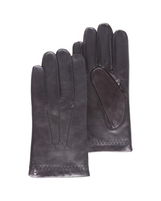 Gants cuir homme hommes Gants en Noir Isotoner pour homme en coloris Black