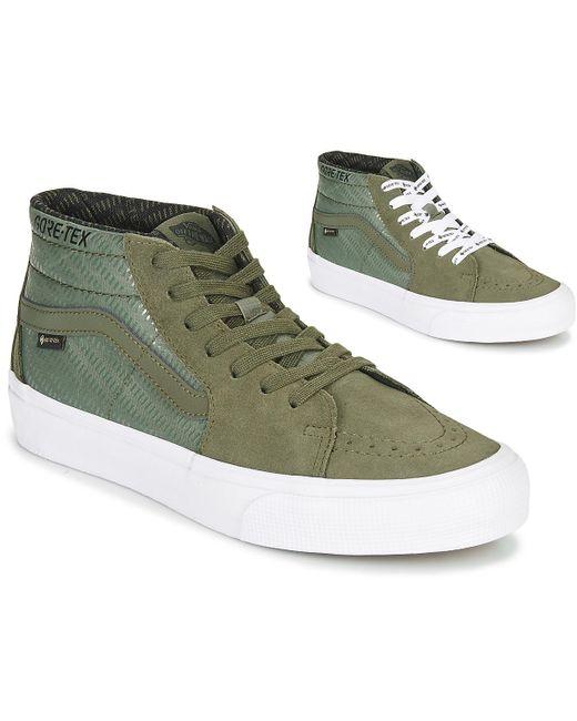 Baskets Vans pour homme en coloris Vert - 20 % de réduction - Lyst