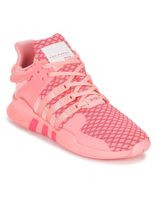 new arrival 20ae2 a13ce Eqt Support Adv W Women's Shoes (trainers) In Pink
