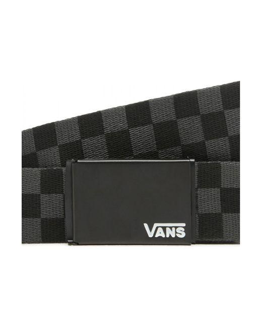 Deppster ii web b Ceinture Vans pour homme en coloris Noir - Lyst
