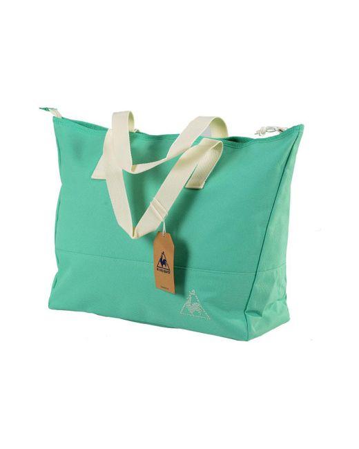 Le Coq Sportif - Green Chronic Galium Shopping Spearmint Women's Bag In Multicolour for Men - Lyst