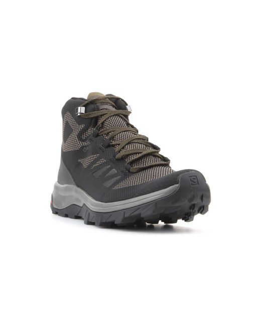 sports shoes f4170 11520 Trekking Shoes Outline Mid Gtx 404763 Men's Shoes (high-top Trainers) In  Black