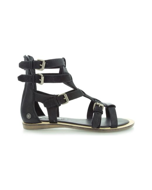 Pepe Jeans - Gayton Roma Pls90145 Women's Sandals In Black - Lyst