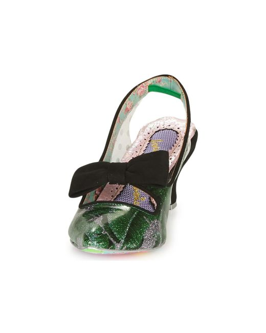 Irregular Choice Green Paradox Court Shoes
