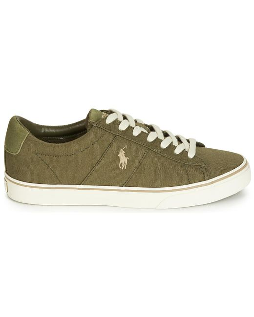 2d72ca01f504 ... Polo Ralph Lauren - Sayer Men s Shoes (trainers) In Green for Men ...