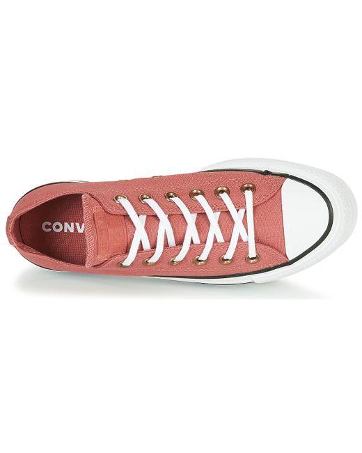 Converse Lage Sneakers Chuck Taylor All Star Lift Seasonal