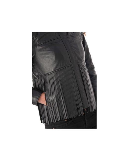 INES LATINA NOIR 501 Veste Oakwood en coloris Black