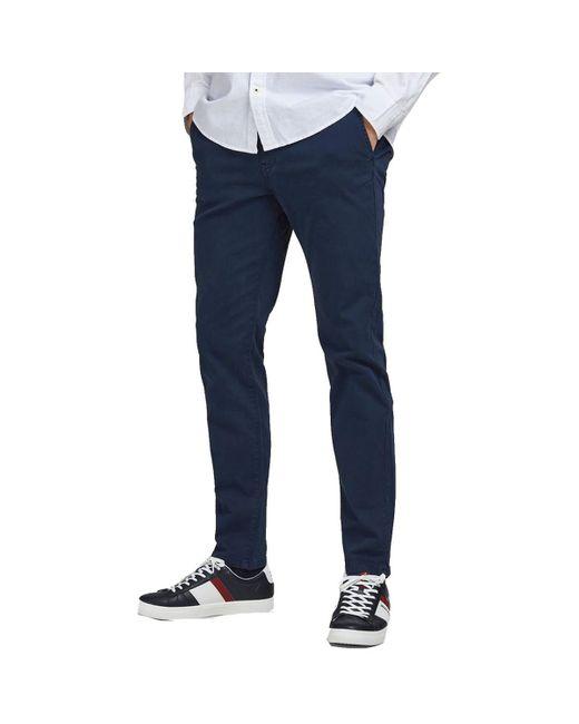 Jack Jones - pantalon Chinots Jack & Jones pour homme en coloris Blue