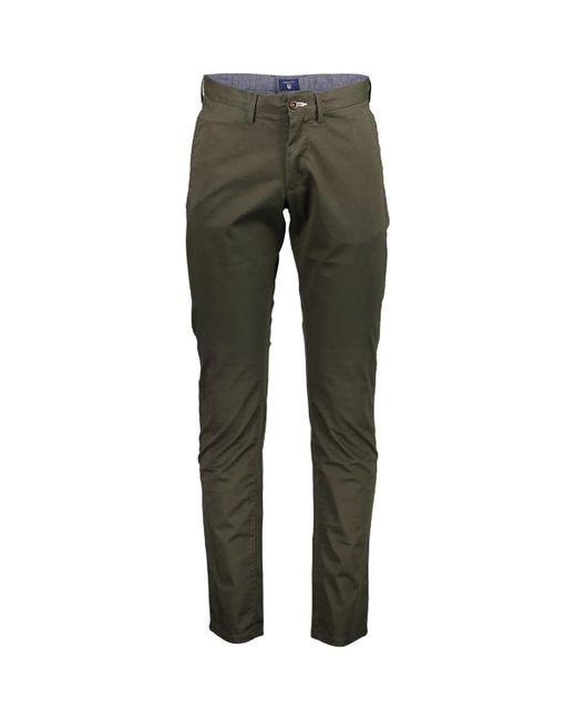 Pantalon 1703.1500156 Gant pour homme en coloris Green