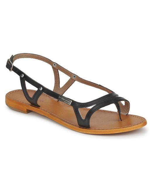 Les Tropéziennes Par M Belarbi - Isatis Women's Sandals In Black - Lyst