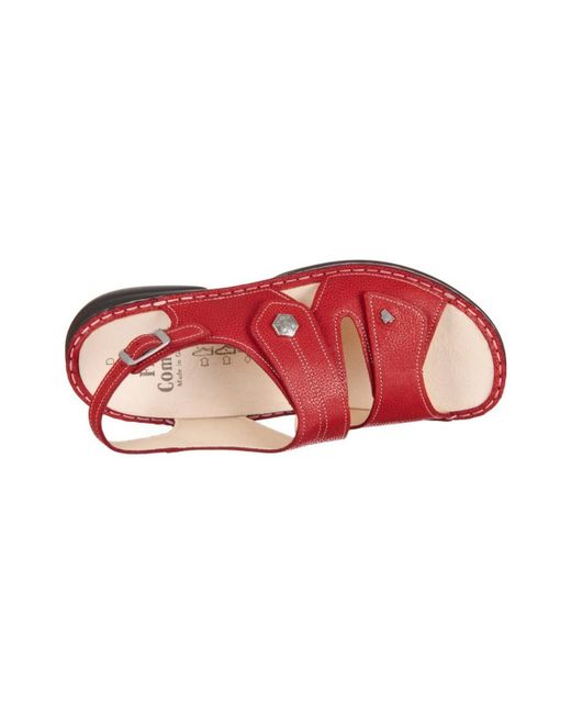 Enjoy Discount Aaa Finn Milos Signalred Eldora women's Mules / Casual Shoes in jE2iLmO8A