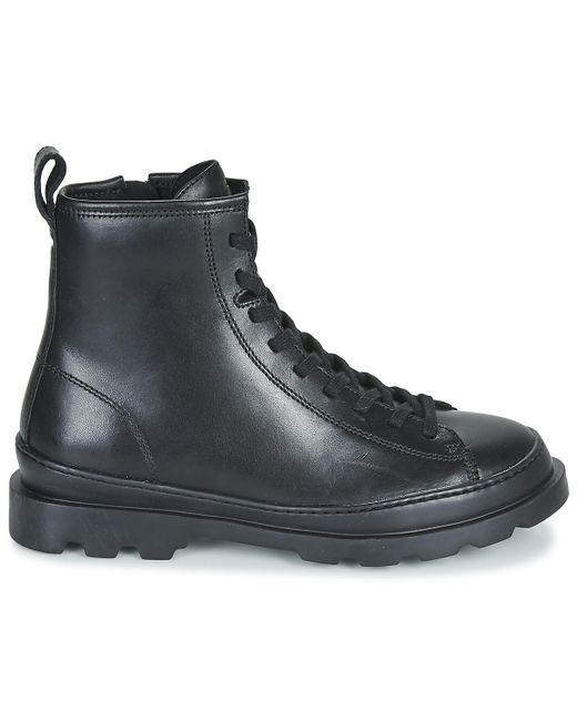 Camper Laarzen Brutus in het Black