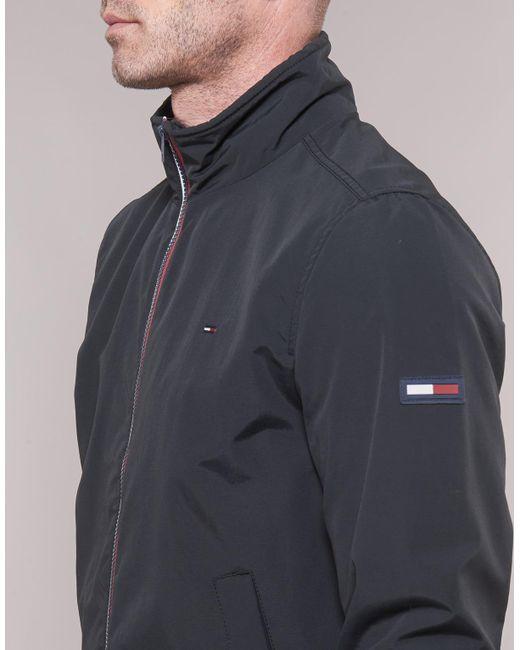 b0c941b70 Tommy Hilfiger Tjm Essential Casual Bomber Men's Jacket In Black in ...