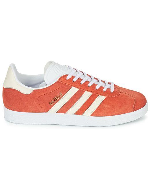 adidas Gazelle W Women s Shoes (trainers) In Orange in Orange - Lyst 44a16da32338