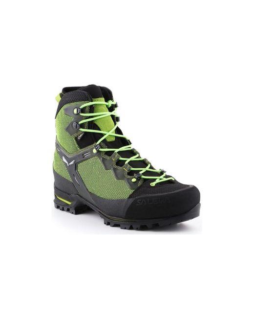 Salewa Trekking Shoes Ms Raven 3 Gtx 361343-0456 Men's Walking Boots In Green for men