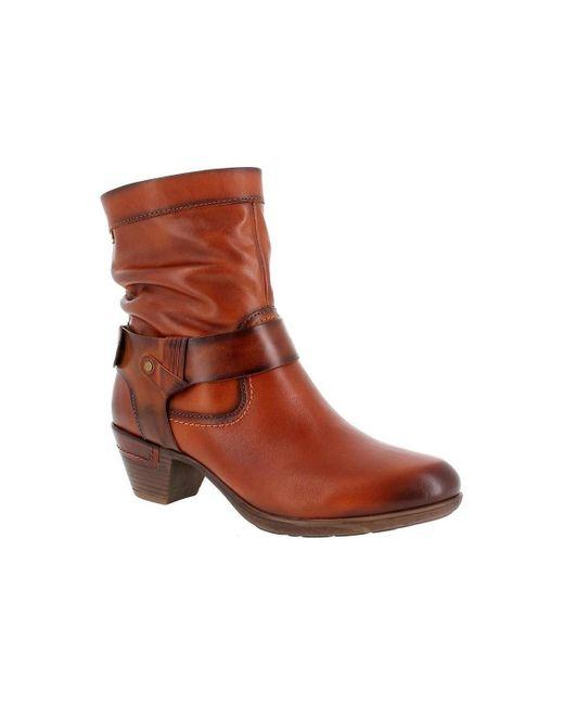 902-8890 Cuero Pikolinos de color Brown