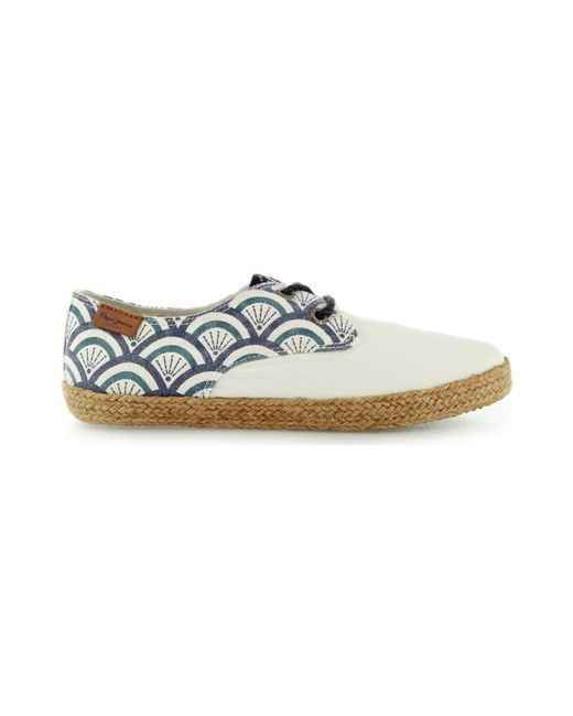 Pepe Jeans - Bahati Mati Pgs10116 Women's Espadrilles / Casual Shoes In White - Lyst