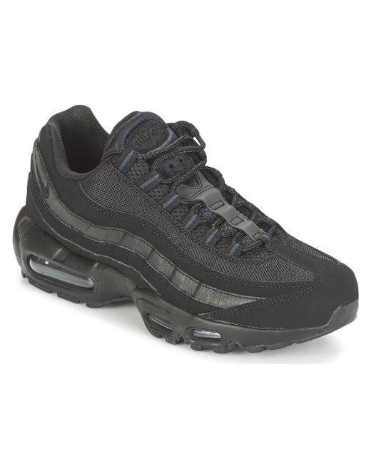 Air Max 95 Noir hommes Chaussures en Noir Nike pour homme en ...