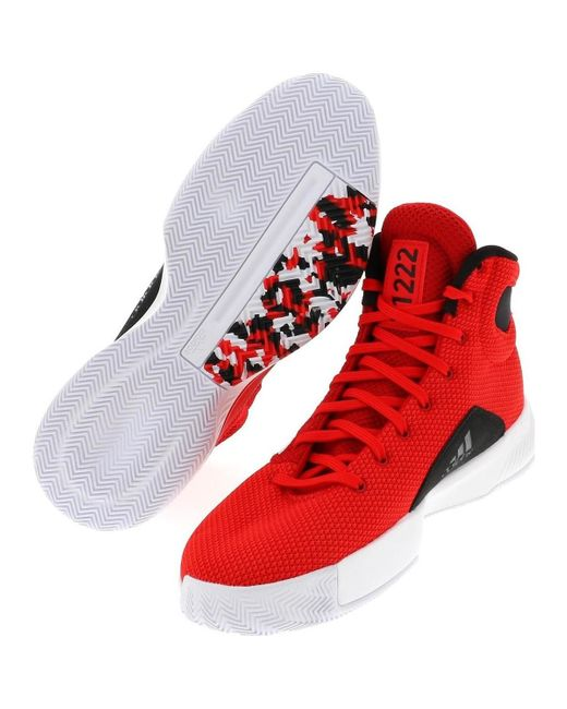 Pro bounce madness basket hommes Chaussures en rouge adidas pour ...