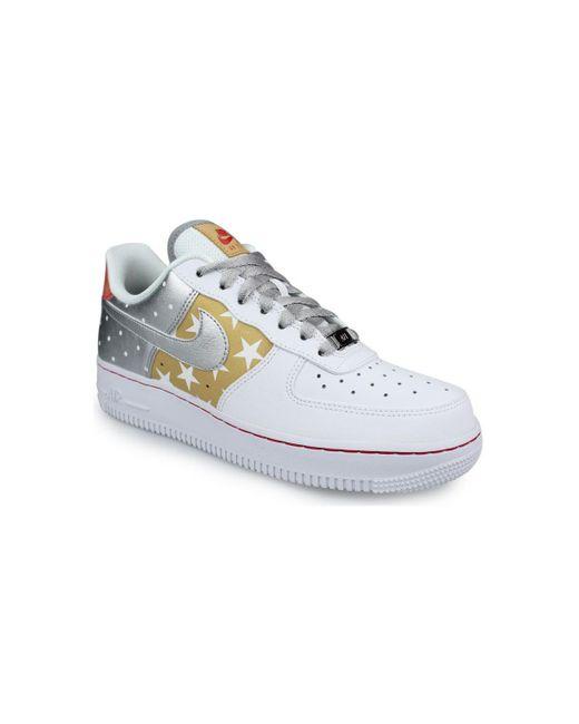 WMNS Air Force 1 '07 Premium Blanc Chaussures Nike en coloris ...